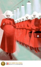 Pregnant-by-Balbusso-Sisters-for-The-Handmaids-Tale-by-Margaret-Atwood