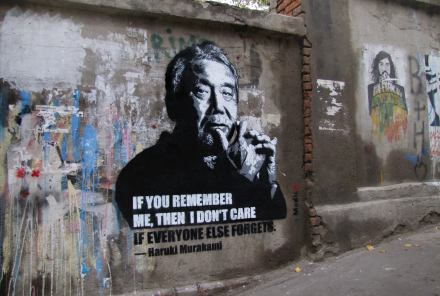 _if-you-remember-me-then-i-dont-care-if-everyone-else-forgets-_haruki-murakami-street-art-in-georgia-by-artist-medic