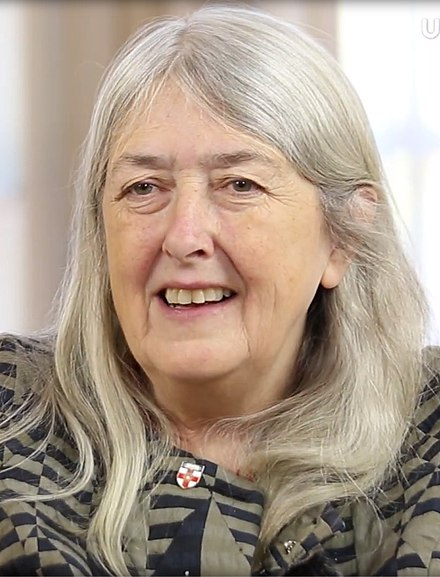 440px-Mary_Beard_UC3M_2017_(cropped)